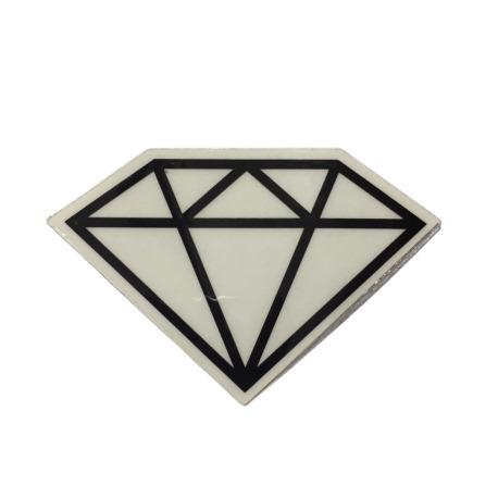 Adesivo Diamond Rock Black (5cm x 7,5cm)