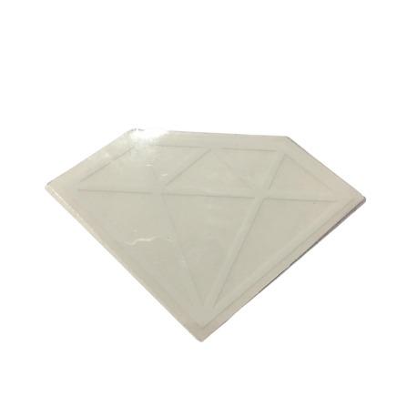 Adesivo Diamond Rock White (5cm x 7,5cm)
