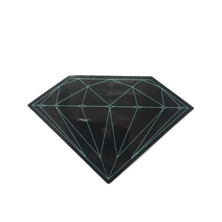 Adesivo Diamond Brilliant Black (5cm x 7,5cm)