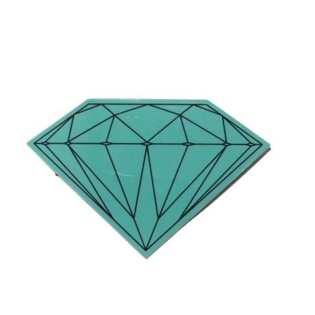 Adesivo Diamond Brilliant Green (5cm x 7,5cm)