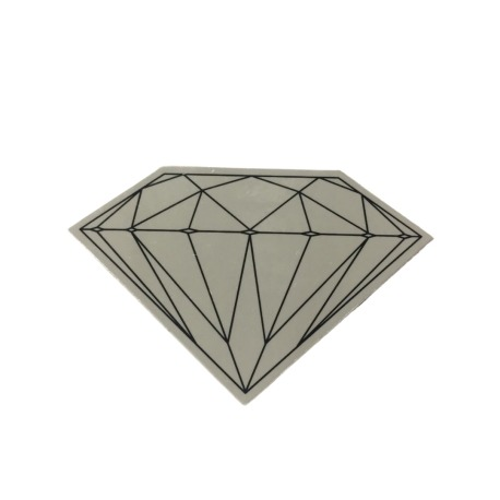Adesivo Diamond Brilliant Grey (5cm x 7,5cm)