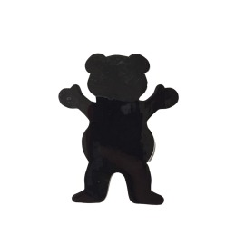Adesivo Grizzly Og Bear Black P - (6,5cm x 5cm)