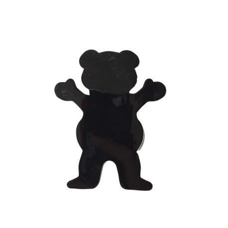 Adesivo Grizzly Og Bear Black (6,5cm x 5cm)