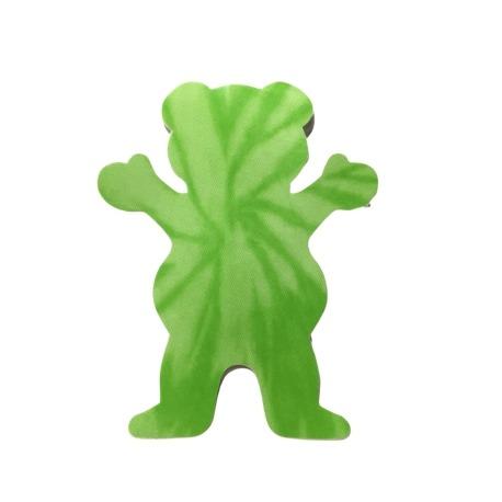 Adesivo Grizzly Neon Tie Dye Bear P Green (7,5cm x 6cm)