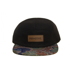 Boné Primitive 5 Panel Eastern Feltro - Preto
