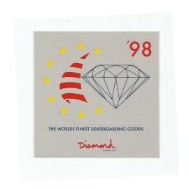 Adesivo Diamond Finest Grey - (10cm x 10cm)