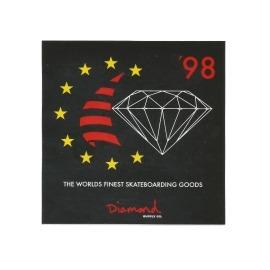 Adesivo Diamond Finest Black - (10cm x 10cm)