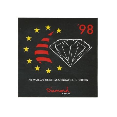 Adesivo Diamond Finest Black (10cm x 10cm)