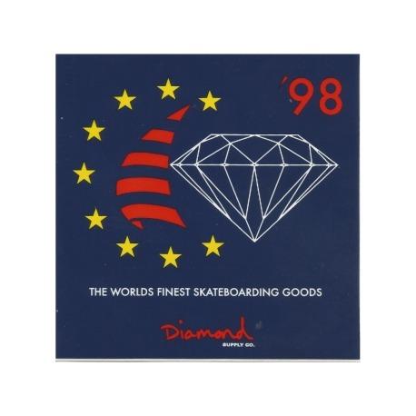 Adesivo Diamond Finest Blue (10cm x 10cm)