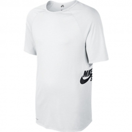 Camiseta Nike SB Logo  - Branca