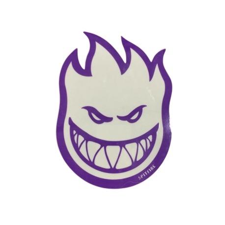 Adesivo Spitfire Bighead Clearfill Purple P - (8cm x 6cm)