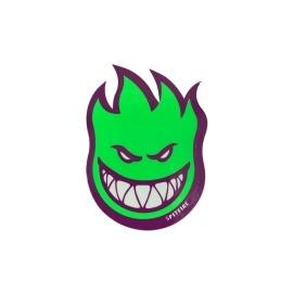 Adesivo Spitfire Bighead Green/Purple P - (8cm x 6cm)