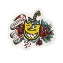 Adesivo Spitfire Tattoo Flash Daggers - (10cm x 12,5cm)