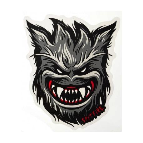 Adesivo Spitfire Bighead Werewolf M - (15,5cm x 13cm)