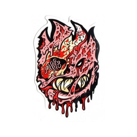 Adesivo Spitfire Bighead Zombie Fleshy M - (18cm x 12cm)