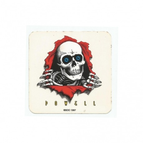 Adesivo Powell Peralta Logo - (7,5cm x 7,5cm)