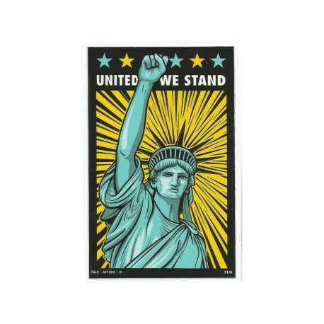 Adesivo Real Action Realized Statue of Liberty (14cm x 9cm)