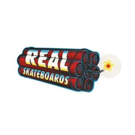 Adesivo Real Dynamite - (20,5cm x 8,5cm)