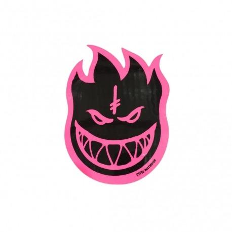 Adesivo Spitfire Bighead Collab Deathwish Pink M - (15,5cm x 11cm)