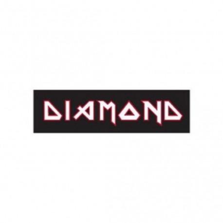 Adesivo Diamond Maiden Black/White - (5,5cm x 20cm)