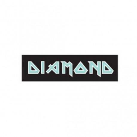 Adesivo Diamond Maiden Black/Green - (5,5cm x 20cm)