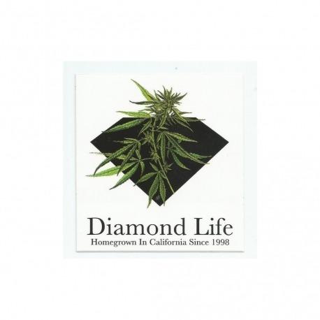 Adesivo Diamond Homegrow - (10cm x 9,5cm)