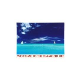 Adesivo Diamond Welcome to the Diamond Life - (9,5cm x 13cm)