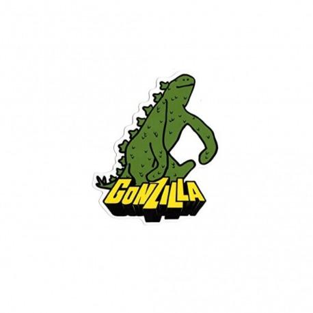 Adesivo Krooked Gonzilla P - (9cm x 7,5cm)