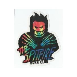 Adesivo Spitfire Burn Club - (12,5cm x 10,5cm)