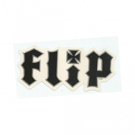 Adesivo Flip Metalhead Black M (6,5cm x 14cm)