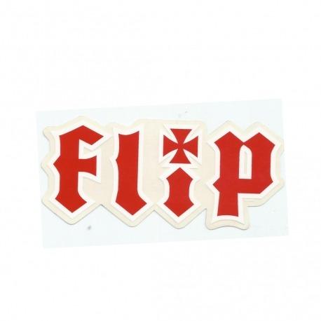 Adesivo Flip Metalhead Red M (6,5cm x 14cm)