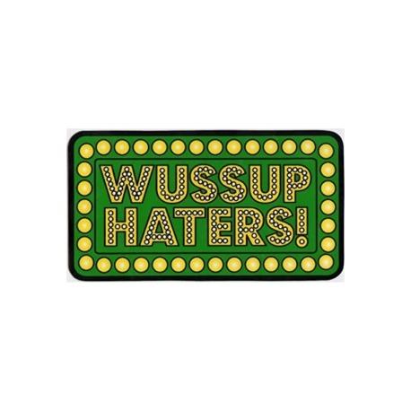 Adesivo Shake Junt Wussup Haters - (8cm x 15cm)