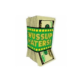 Adesivo Shake Junt Money Talks - (16cm x 10cm)