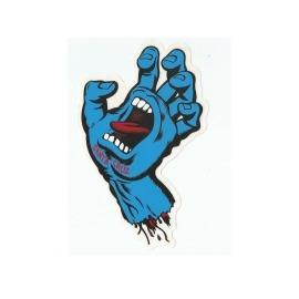 Adesivo Santa Cruz Screaming Hand - (15,5cm x 13cm)