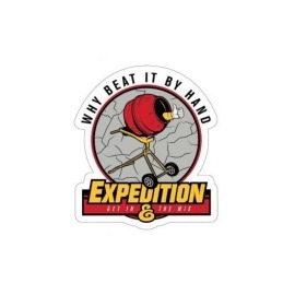 Adesivo Expedition Beat It - (8,5cm x 7,5cm)