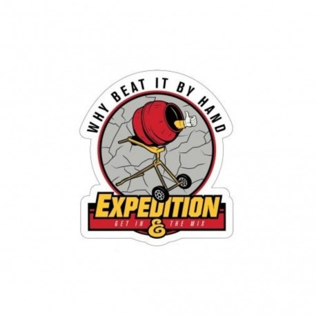 Adesivo Expedition Beat It - (8,5cm x 7,5cm)
