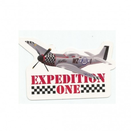 Adesivo Expedition Fly By - (6,5cm x 10cm)