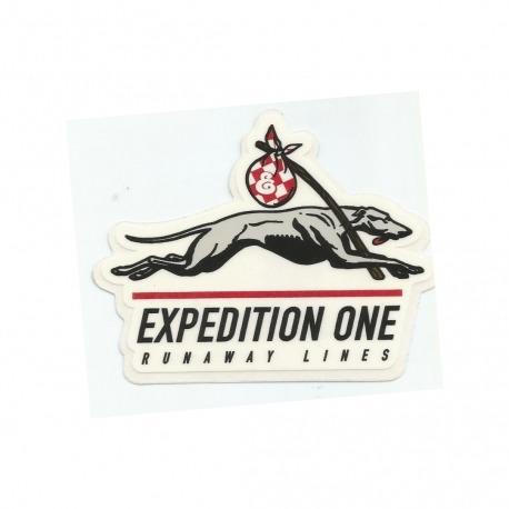 Adesivo Expedition Runaway - (7,5cm x 9,5cm)