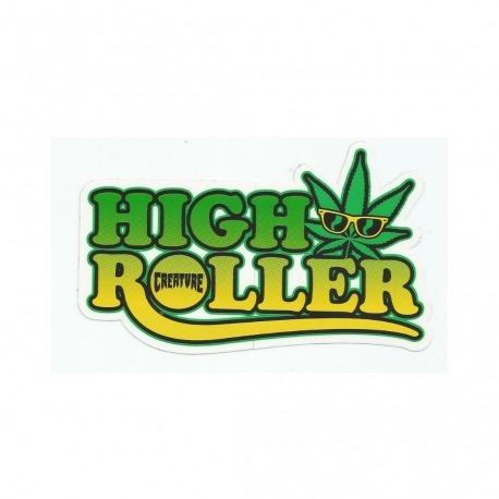 Adesivo Creature High Roller - (8,5cm x 15,5cm)