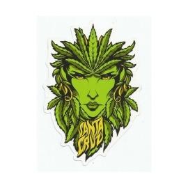 Adesivo Santa Cruz Weed Goodess - (15,5cm x 10,5cm)