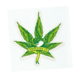 Adesivo Anti Hero Eagleize it Green P - (10cm x 9,5cm)