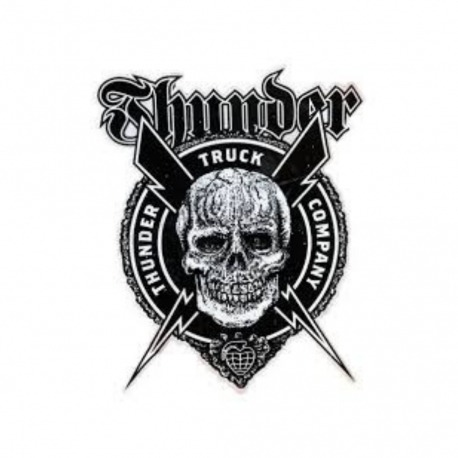 Adesivo Thunder Por Vida G - (30cm x 24cm)
