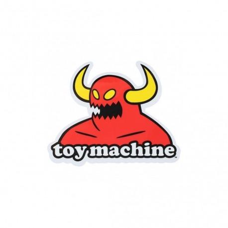 Adesivo Toy Machine Monster - (10cm x 13cm)
