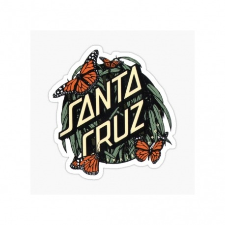 Adesivo Santa Cruz Monarch Dot P - (8,5cm x 8cm)