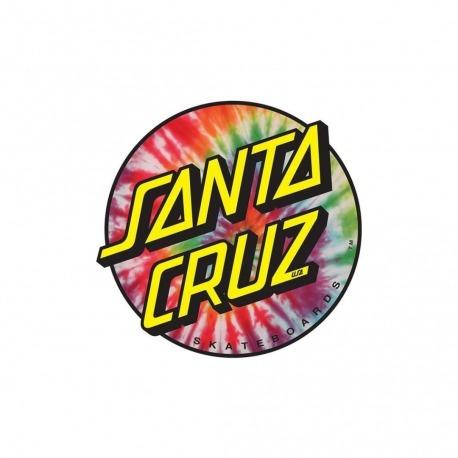 Adesivo Santa Cruz Tie Dye P - (7,5cm x 8cm)