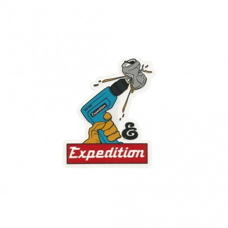 Adesivo Expedition Tools (10cm x 8cm)
