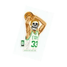 Adesivo Expedition Basketball Green (10cm x 7cm)