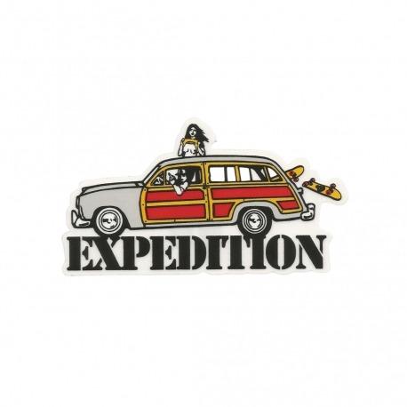 Adesivo Expedition Car (6,5cm x 12cm)
