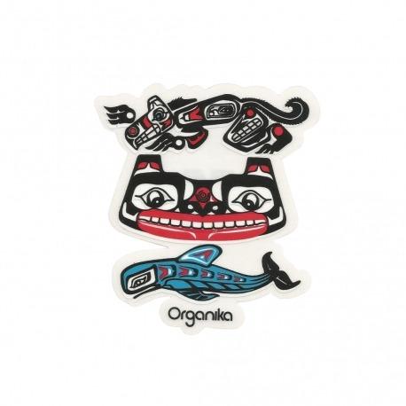 Adesivo Organika Animals - (10,5cm x 9cm)