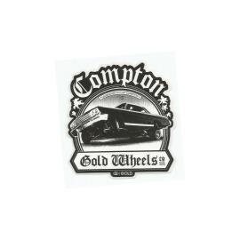 Adesivo Gold Compton - (9,5cm x 9cm)